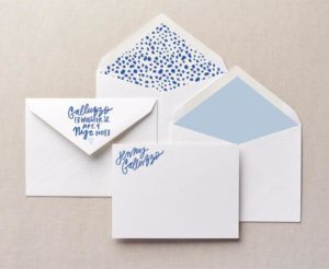 Playfully Unique Personalized Stationery
