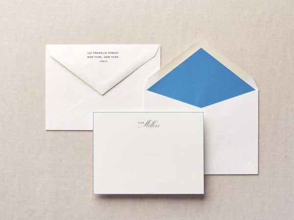 Sincerely Us Personalized Stationery
