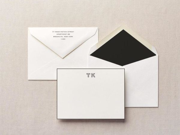 Open Book Personalized Stationery