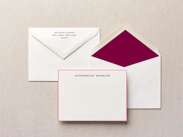 Take the Helm Personalized Stationery