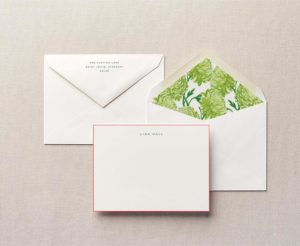 Lady Like Personalized Stationery