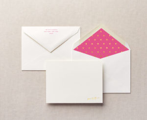 To the Point Personalized Stationery