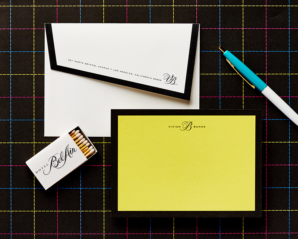 Stationery for 80s Lover