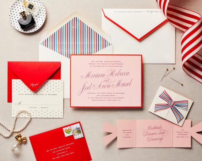 fun wedding invitation