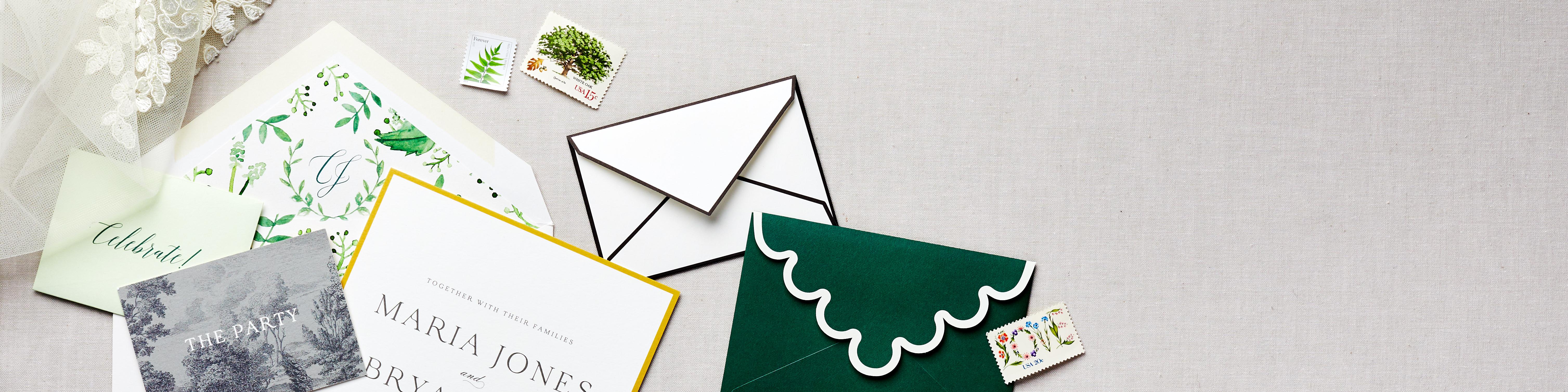 high end wedding invitation designs