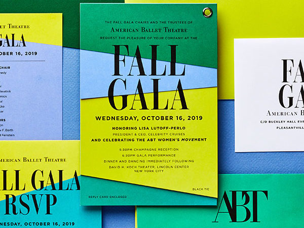 american ballet theater invitation