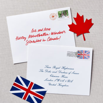 how to write to harry and meghan