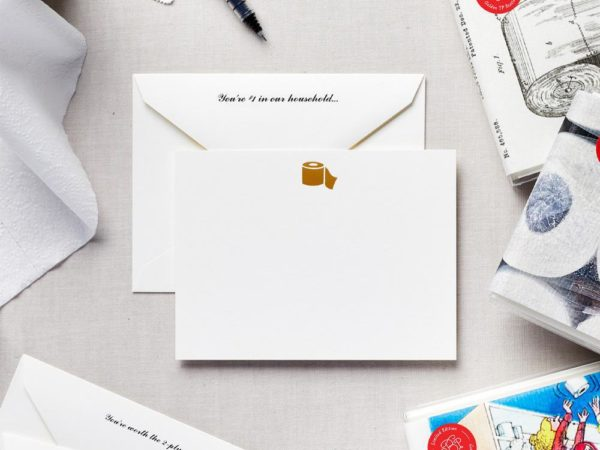 Limited Edition: Golden TP Stationery